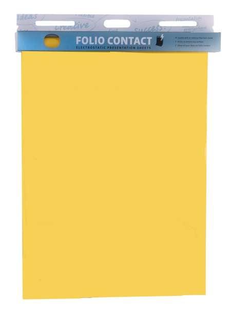 Yellow Pinkboard Foliocontact